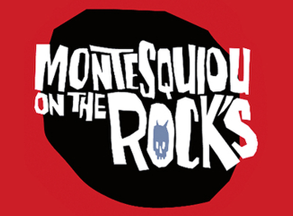 Montesquiou on the rock